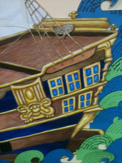 Pirate Ship Close-Up
