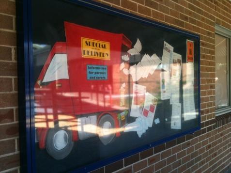 Noticeboard truck 002